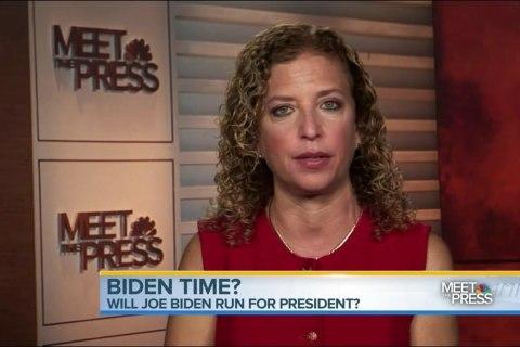 Joe Biden 2016? Debbie Wasserman Schultz Says 'There Will Always Be Room' for Bid