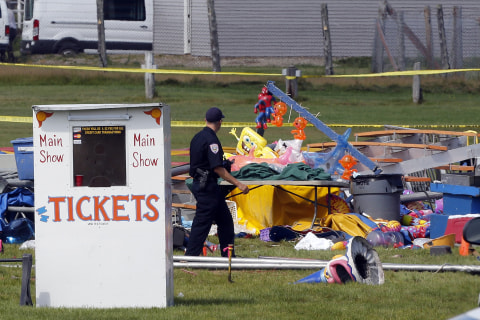 Survivors of New Hampshire Circus Tent Collapse Recall Horror, Confusion