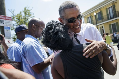 Obama Speaks in New Orleans 10 Years After Katrina