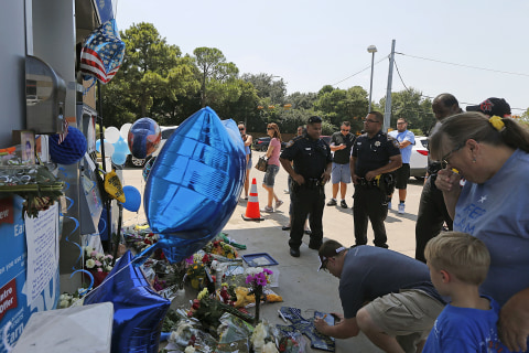 Wife of Slain Deputy Darren Goforth:'There Are No Words'