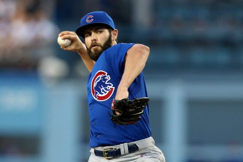 Cubs Pitcher Jake Arrieta Throws No-Hitter Against Dodgers