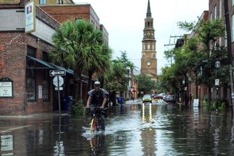 Tropical Storm Erika's Aftermath: Flooding in Carolinas, Flood Warnings for Florida