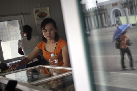 North Korea's Street Stalls Signal Small-Scale Arrival of Capitalism