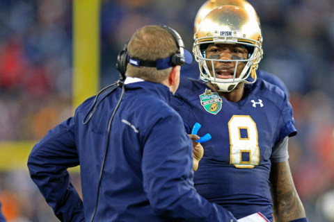 Notre Dame Opens Season With Big Test Against Texas