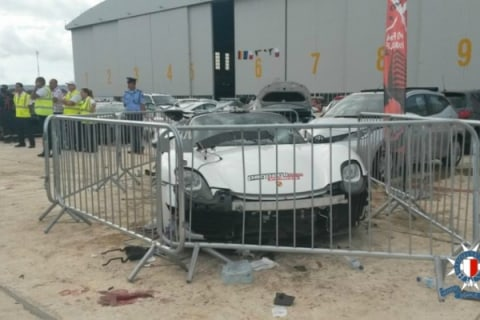 Porsche Supercar Flies Off Maltese Track, Injuring 26, Five Critically