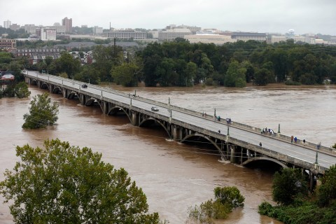 Carolinas Battered by Historic Rains
