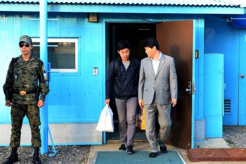 North Korea Frees New York University Student Joo Won-moon