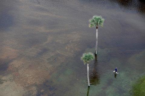 Bird's Eye View: South Carolina Submerged