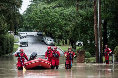 Carolinas Flooding Danger Remains as Historic Rainfall Passes