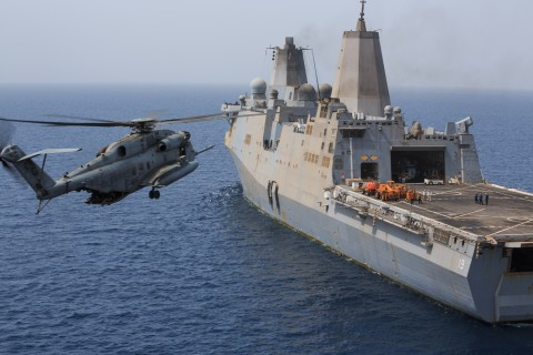 Super Stallion Chopper Crash Blamed on Engine With Troubled History