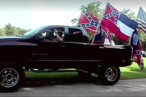 Rebel Flag Fans Face Gang Charge for Crashing Black Kid's Party