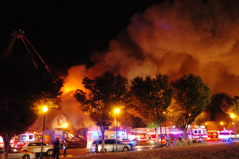 Two Firefighters Killed Battling Massive Two Alarm Fire in Kansas City