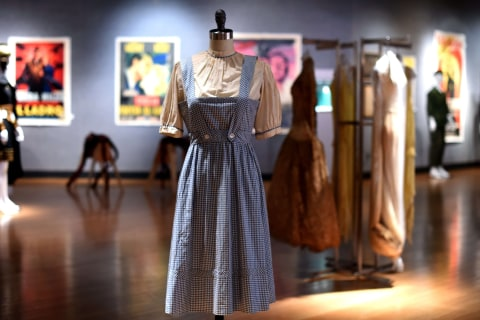 Judy Garland's 'Wizard of Oz' Dress Fetches $1.5 Million at Auction