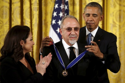 Gloria and Emilio Estefan Receive Presidential Medal of Freedom