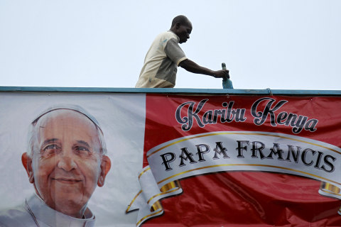 All Systems Go: Africa Ready to Host Pope Francis