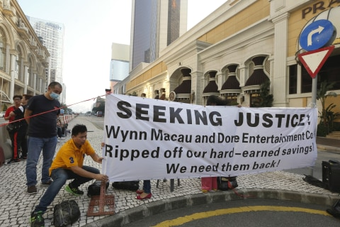 Theft From Junket Operator Knocks Macau's Gambling Business For a Loop