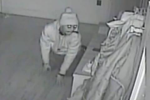 Nanny-Cam Video Shows Burglar in Sleeping Family's Bedroom