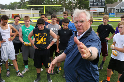 Back to School: Ex-NFL Coach Re-Discovers Passion for Coaching