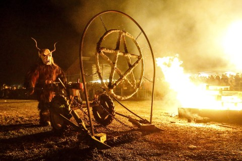 Austrian Villagers to Refugees: Please Don't Fear Krampus