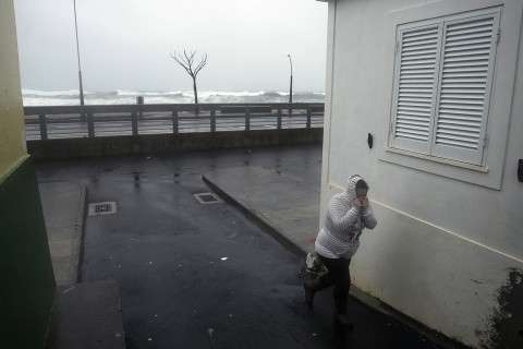 Hurricane Alex, First January Hurricane Since '78, Socks the Azores