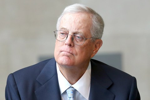 Koch Brothers' Network Considering Anti-Trump Campaign