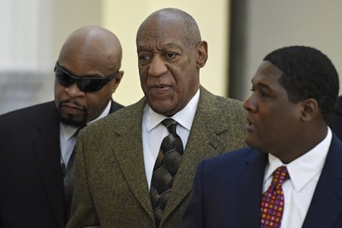 Bill Cosby Appears in Court for Hearing on Fate of Sex-Assault Trial