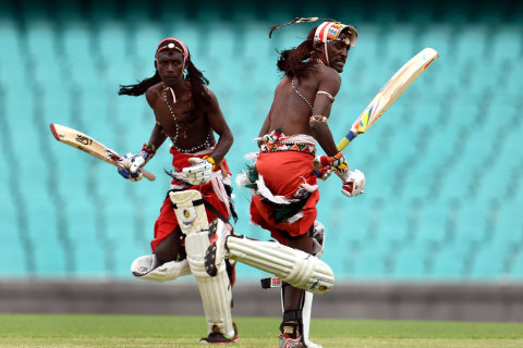 Maasai Warriors Take Up Cricket for Social Change