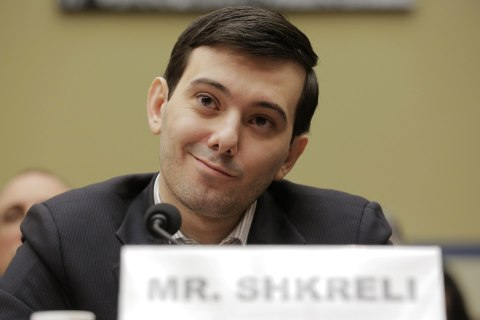 'Pharma Bro' Shkreli Invokes the Fifth Before Congress