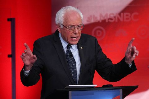 Sanders: 'Judgement' as Important as Foreign Policy 'Experience'