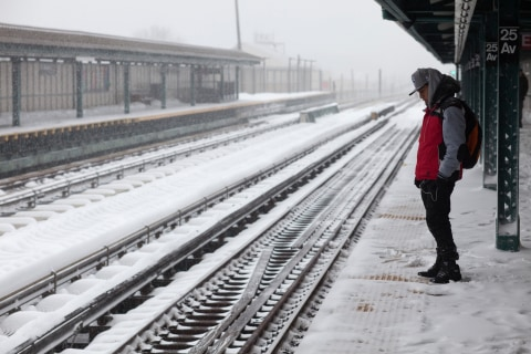 Winter Storm Creates Messy Commute for Millions in Northeast