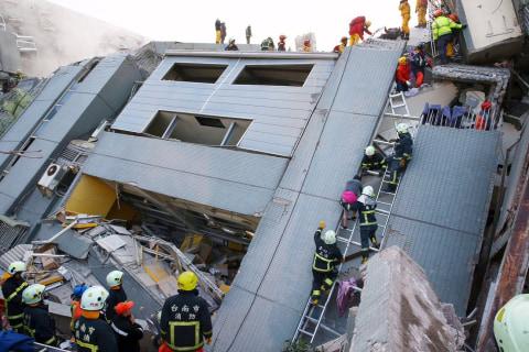 6.4-Magnitude Earthquake Strikes Taiwan