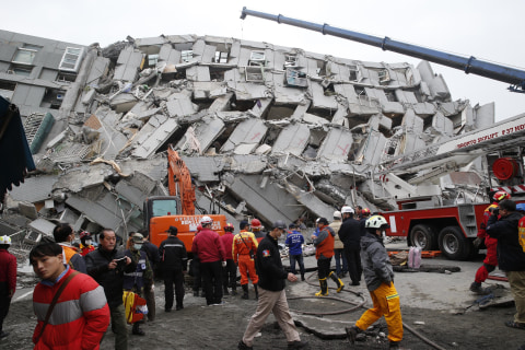 Death Toll in Taiwan Quake Rises to 113
