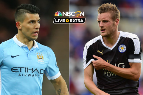 WATCH LIVE: Leicester v. Man City in 1st v. 2nd in BPL