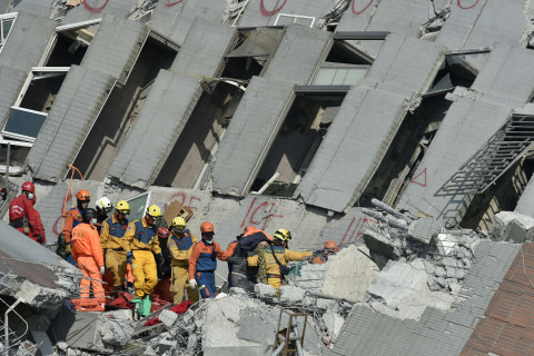 Taiwan Earthquake: More Than 100 Trapped Under One Building, At Least 18 Dead