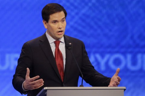 Rubio Said Clinton Supports Abortion on Baby's Due Date. True?