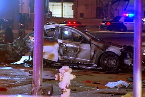 3 Dead in Crash After Police Pursuit in San Francisco