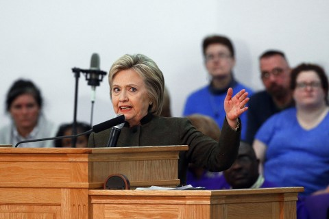 Hillary Clinton: 'What Happened in Flint Is Immoral'