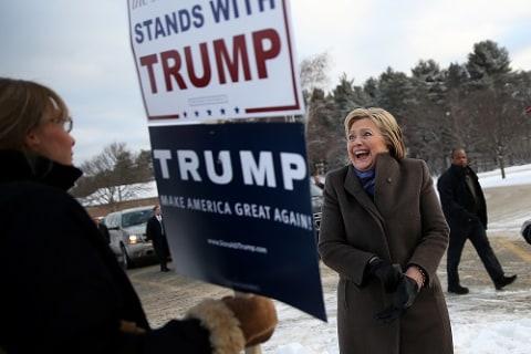 First Read: Nightmares Come True for Clinton, GOP Establishment