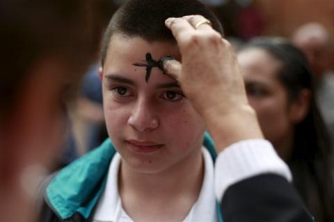 Christians Mark Ash Wednesday, Begin 40-day Lent Period