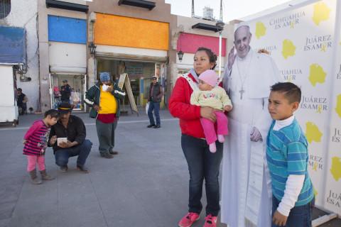 Juárez Gets Ready for Pope, Showcases Progress After Violence