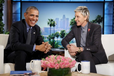 Obama Reveals on 'Ellen DeGeneres Show' How He Plans to Spoil First Lady This Valentine's Day