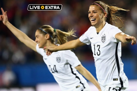 WATCH LIVE Women's Olympic Qualifying soccer: USA v. Mexico