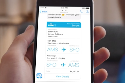 Now You Can Check in For Your Flight Using Facebook Messenger