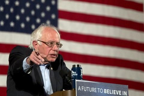 Bernie Sanders Doesn't Say No to Hypothetical Clinton VP Slot