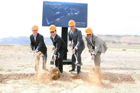 What Is Mystery Car Maker Faraday Future Up to in the Nevada Desert?