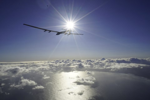 'Solar Impulse' Plane Takes Off From California for Arizona