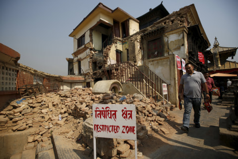 Nepal Is Still in Rubble a Year After Devastating Quake