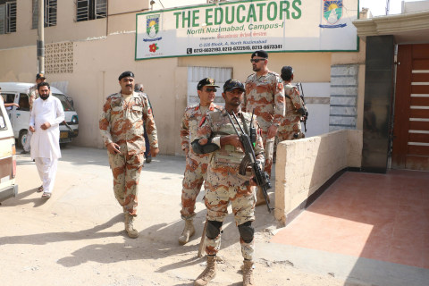 Pakistan's Paramilitaries Turn to WhatsApp to Fight Terror and Crime in Karachi