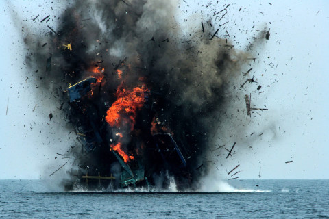Why Indonesia Keeps Blowing Up Boats on TV