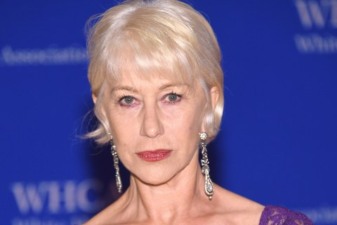 Helen Mirren Sports Prince Tribute at White House Correspondents' Dinner